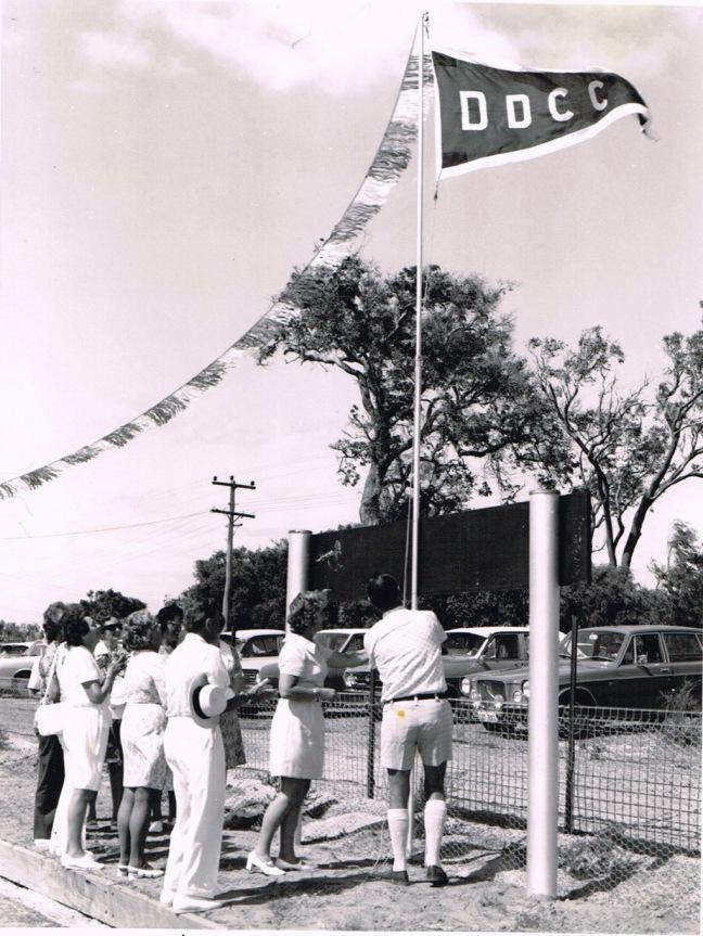 Raising the DDCC flag