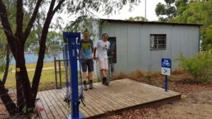 Cycle repair station